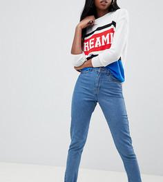 Укороченные джинсы в винтажном стиле Noisy May Tall - Синий