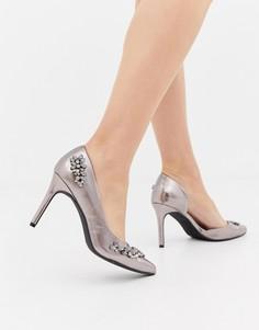 Туфли с отделкой Coast Destiny - Серый