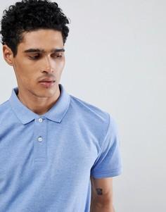 Синяя футболка-поло Esprit - Синий