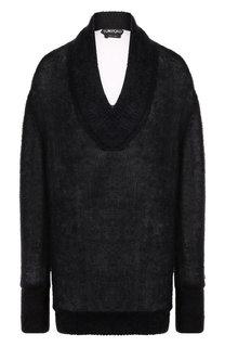 Вязаный пуловер с V-образным вырезом Tom Ford