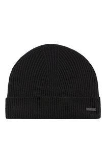 Шерстяная шапка фактурной вязки Ami