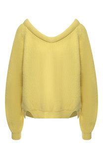 Пуловер из смеси шерсти и кашемира Erika Cavallini