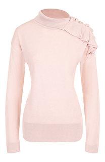 Пуловер с декоративной отделкой Pietro Brunelli