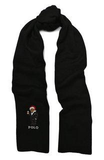Шарф с вышивкой Polo Ralph Lauren