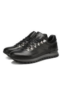 Кожаные кроссовки Seattle на шнуровке Bogner