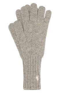 Перчатки из смеси шерсти и кашемира Polo Ralph Lauren