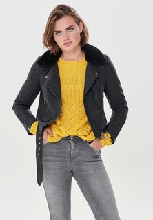 Куртка кожаная Only