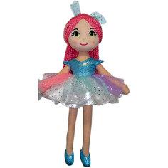 Кукла ABtoys Балерина в голубой пачке, 40 см