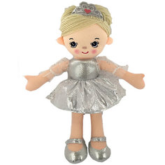Кукла ABtoys Балерина в серебристом платье, 30 см