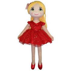 Кукла ABtoys Балерина в красной пачке, 40 см
