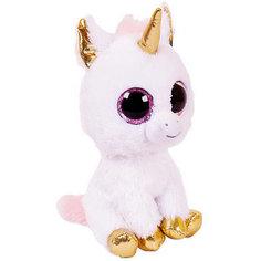 Мягкая игрушка Abtoys Единорог, розовый, 14 см