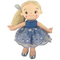 Кукла ABtoys Балерина в голубом платье, 30 см
