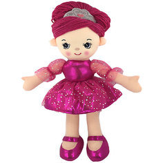Кукла ABtoys Балерина в розовом платье, 30 см