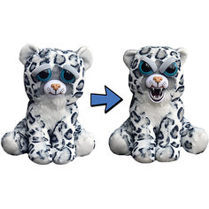 Мягкая игрушка FeistyPets Леопард серый, 22 см