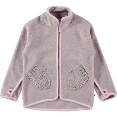 Флисовая куртка Molo для девочки