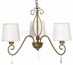 Подвесная люстра Carolina A9239LM-3BR Arte Lamp