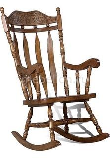 Кресло-качалка 4768Т дуб темный Петроторг