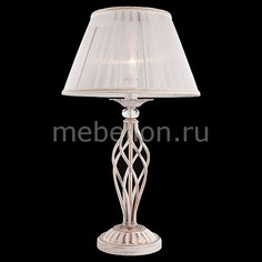 Настольная лампа декоративная 1002-01003 01002/1 белый с золотом Eurosvet