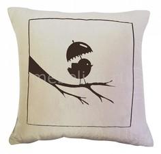 Подушка декоративная (45х45 см) Птичка 215 Primavelle