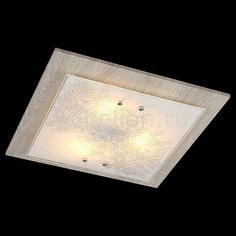 Накладной светильник Муза 40067/3 хром/светлое дерево Eurosvet