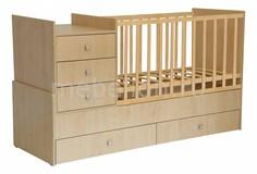 Кроватка-трансформер Polini Simple 1000