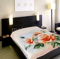 Плед (150х200 см) 3D Розы Tex Republic