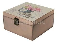 Шкатулка декоративная (24х24х13 см) Прованс 1012-8 Акита