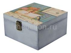 Шкатулка декоративная (24х24х13 см) Прованс 1012-4 Акита