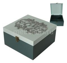 Шкатулка декоративная (24х24х13 см) AKI 1012-3 Акита
