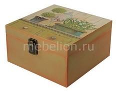 Шкатулка декоративная (24х24х13 см) Прованс 1012-10 Акита