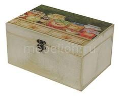 Шкатулка декоративная (26х18х11.5 см) Варенье 1725-20W Акита