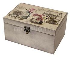 Шкатулка декоративная (26х18х11.5 см) Прованс 1725-27W Акита