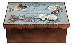 Шкатулка декоративная (26х18х13 см) Авто 1826-14 Акита