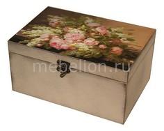 Шкатулка декоративная (26х18х11.5 см) Розы 1725-1 Акита