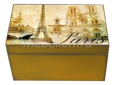 Шкатулка декоративная (26х18х11.5 см) Paris 1725-11 Акита