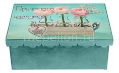 Шкатулка декоративная (26х18х13 см) Чаепитие 1826-13 Акита