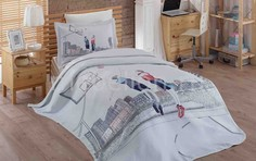 Комплект с покрывалом полутораспальный SAN-DIEGO Hobby Home Collection