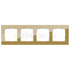 Рамка на 4 поста Favorit WL01-Frame-04 Werkel