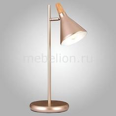 Настольная лампа декоративная 01012/1 перламутровое золото Eurosvet