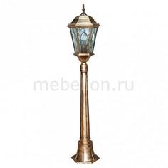 Наземный высокий светильник Витраж с овалом 11323 Feron