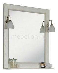 Зеркало с полкой Акватон Жерона 85