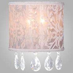 Накладной светильник 10024/2 золото/прозрачный хрусталь Eurosvet