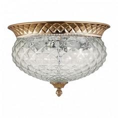 Накладной светильник HOLA PL4 GOLD Crystal lux