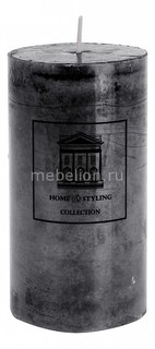 Свеча декоративная (13 cм) Marble 320519 ОГОГО Обстановочка