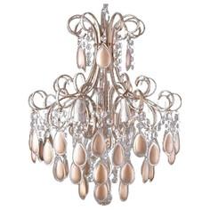 Подвесная люстра SEVILIA SP4 GOLD Crystal lux