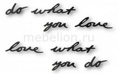 Панно (31.7х7.5 см) Do what you love 470170-040 Umbra