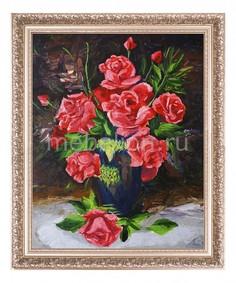 Панно (40х50 см) Букет роз 1722005 Ekoramka