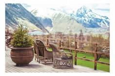 Панно (60х40 см) Вид на горы 140646857 Ekoramka