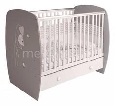 Кроватка Polini kids French 710 Teddy с ящиком