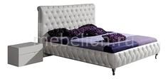 Кровать двуспальная Adriana 1.6 белый Dupen